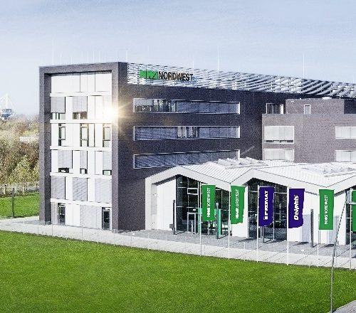 Firmengebäude der NORDWEST Handel AG in Dortmund