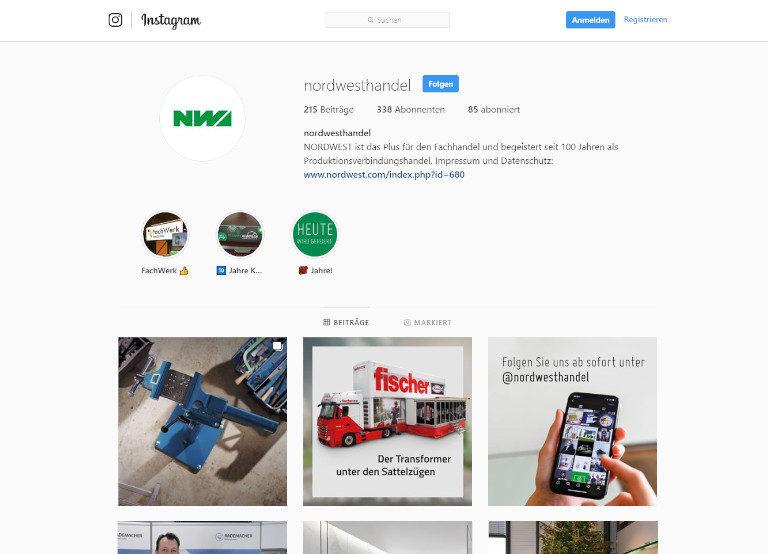 nordwest-instagram-profil-screenshot